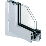 OTWIERANE aluminiowe profile aluminiowe z przegrodą termiczną Aluprof MB 60 i MB 70 lub bez przegrody termicznej Aluprof MB 45 i MB 23P, COPAL • różnorodność funkcji sposobów otwierania • rama i skrzydło malowane proszkowo lub oklejane folią Renolit • uszczelnienie gumowe na całym obwodzie • montaż w zabudowie indywidualnej lub fasadach